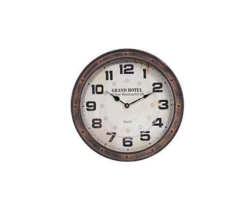 Relógio de Parede Terracota
