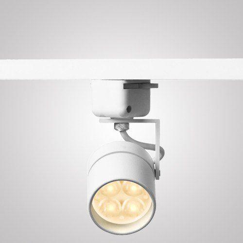 Spot Com Led Para Trilho Altena Ip20 127 Volts - Branco