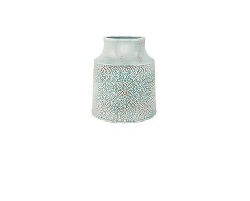 Vaso Azul em Cerâmica