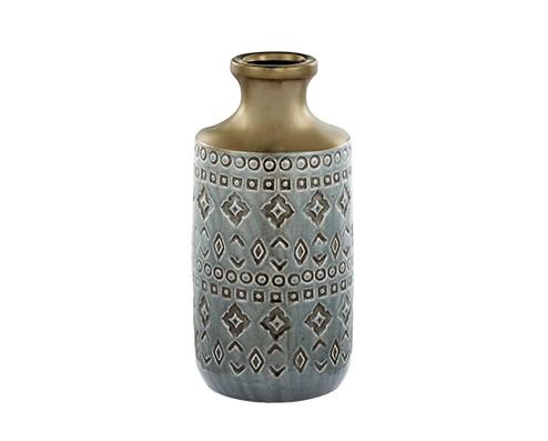 Vaso Indigo em Cerâmica