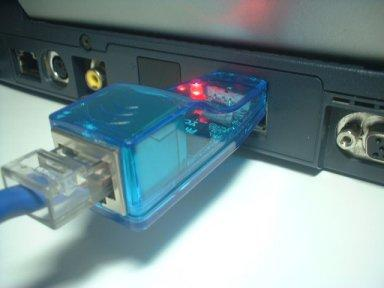 Adaptador de Rede RJ45 USB - PLR001
