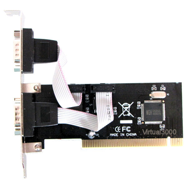 Placa PCI 2x Serial (RS232 DB9)
