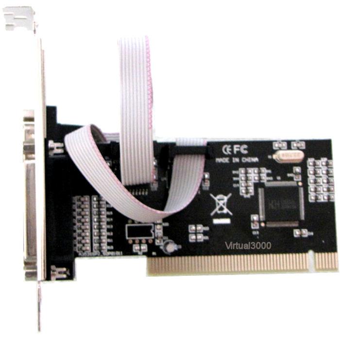 Placa PCI 2x Serial + 1x Paralela