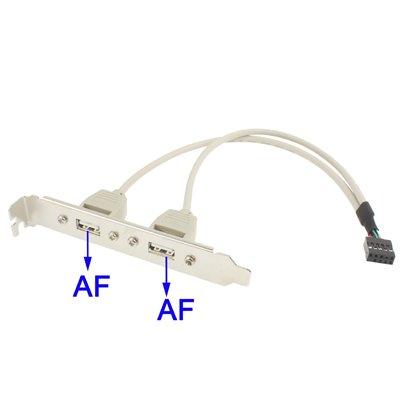 Espelho c/ 2 portas USB 2.0 AF
