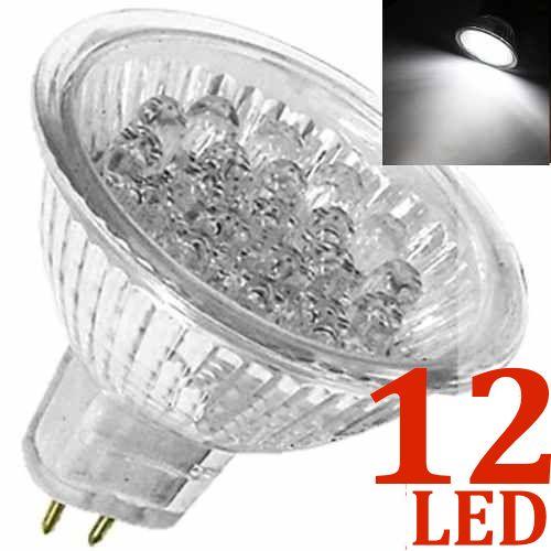 Lâmpada 12 LED Branco Puro MR16 GU5.3