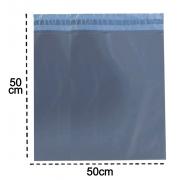 100 Envelopes De Segurança 50x50  Cinza Embalagem Correios
