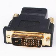 Adaptador HDMI 19p Fêmea x DVI 24 1 Macho