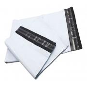 500 Envelopes De Segurança 18x20 Branco Saco Lacre Embalagem