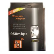 Adaptador Wireless Wifi USB Nano
