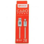 Cabo Dados Colorido Turbo 3.0 Type C 2M HS127 - HREBOS