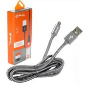 CABO DADOS TURBO USB | MICRO USB V8 2M | PMCELL CROMO889 CB21
