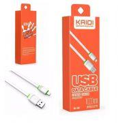 Cabo de Dados USB | 1M Lightning | Kaidi KD306