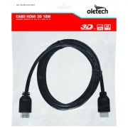 Cabo HDMI 10m Full Hd 1080p
