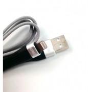 Cabo USB Flexível Resistente 1M Lightning 2.4a KD58A - KAIDI