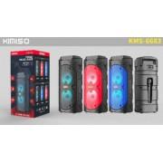 Caixa De Som Amplificada Usb Mp3 KMS-6681 - KIMISO