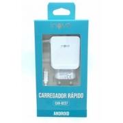 Carregador de tomada V8 2 USB 4.1A CAR-8237 - INOVA