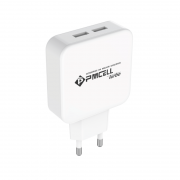 CARREGADOR TOMADA CELULAR 2x USB 2.4A - PMCELL POWER799 HC21