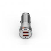 CARREGADOR VEICULAR 5A 2x USB QUALCOMM PMCELL MAXX589 CV35