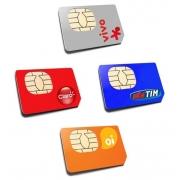 Chip De Operadoras CLARO / OI / VIVO / TIM