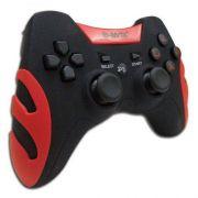 Controle Joystick S/ Fio PC PS1 PS2 e PS3 B-MAX 027