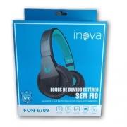 Fone de Ouvido Bluetooth FON-6709 - INOVA