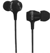 Fone de Stereo Intra Auricular com Microfone - Sport Connection PRETO HS131 - HREBOS