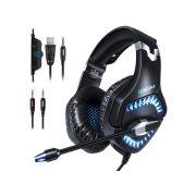 Fone Ouvido Headset Gamer K1 Pro Azul Spectrum Led Onikuma