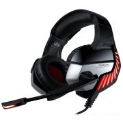 Fone Ouvido Headset Gamer K5 Pro Spectrum Red Led Onikuma
