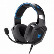 Fone Ouvido Headset Gamer K8 Blue Led Onikuma