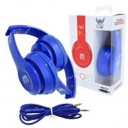 Fone Ouvido Stéreo Headphone Dobrável A-866 Várias Cores
