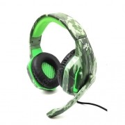 Headset Gamer Fone Profissional Camuflado Celular Ps4 Xbox One PX-4 Selva - TecDrive