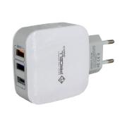 HOME CHARGER HC44 3 Portas USB Turbo