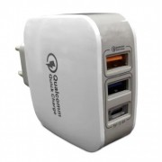 HOME CHARGER HC44 3 Portas USB Turbo