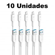 Kit 10 Cabo Tipo C Original PMCELL CB11 1m