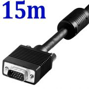 Kit 25 CABO VGA M/M 15m p/ monitor