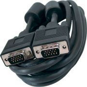 Kit 2 Duplicador VGA + 1 Cabo VGA M/M 5M p/ Monitor