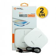 Kit 2x CARREGADOR WIRELESS PMCELL WIRELESS999 WR11
