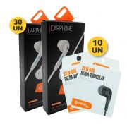 Kit 30 Fone Ouvido Pmcell Fo12 + 10 Fone Ouvido Pmcell Fo11