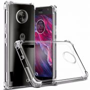 Kit 50 Capinha Anti Shock Transparente Lançamento 2018/2019 K11, Moto G7, G7 Play, J4 Core, J6 Plus