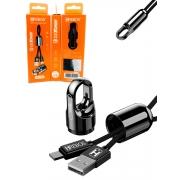 Kit 5 Cabo Chaveiro 3.0 Turbo Micro USB V8 Atacado Revenda