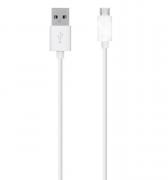 Kit 5 Mini Cabo Micro USB Celular 0,3M V8 Atacado Revenda