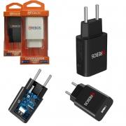 Lote 10 Fonte Carregador Turbo Power Usb 6.0a Qc 4.0 Celular