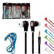Lote 30 Fone ouvido Celular c/ Microfone P3 Atacado Revenda