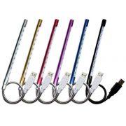 Luminária Flexível USB c/ 10 Led