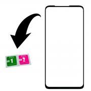 Película De Vidro 3d Compatível Samsung Galaxy F41