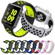 Pulseira Silicone Sport Modelo Nike p/ Apple Watch 42/44mm