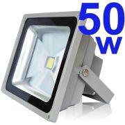 RefletorHolofote SuperLedBranco Frio 50W
