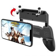 Suporte + Gatilho  All In One Gamepad Game Handle P/ Celular W10