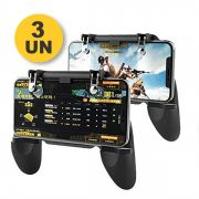 Kit 3x Suporte + Gatilho All In One Gamepad Game Handle P/ Celular