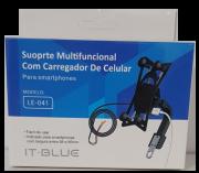 Suporte Moto C/ Chicote IT-Blue LE-041